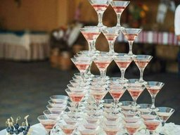 Гірка з шампанським