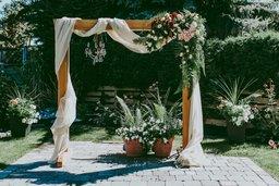 """Весільна Арка """"Квадрат"""""""