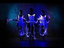 """Світлодіодний танець від """"Las Chicas"""""""