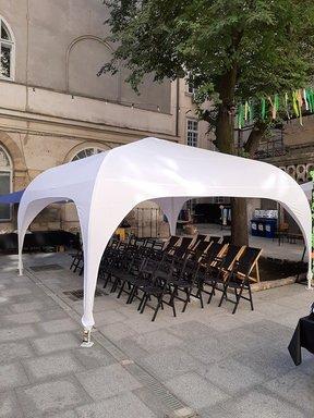 Арочне шатро 5х5м біле