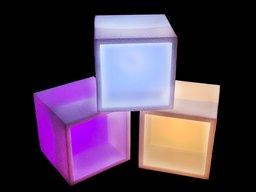 Відкритий LED куб
