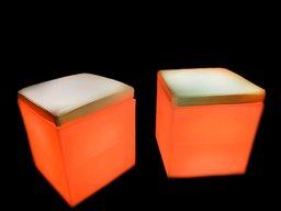 LED Куб пуфік