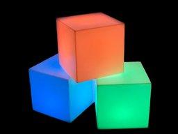 LED Закритий куб
